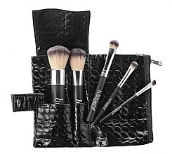 Düfte, Parfümerie und Kosmetik Make-up Pinselset 5-tlg. - Bellapierre 5 Pcs Travel Brush Set