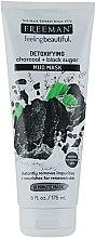 Düfte, Parfümerie und Kosmetik Schlammmaske für das Gesicht mit Aktivkohle und schwarzem Zucker - Freeman Feeling Beautiful Charcoal & Black Sugar Mud Mask