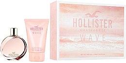 Düfte, Parfümerie und Kosmetik Hollister Wave For Her - Kosmetikset (Eau de Parfum/100ml + Duschgel/100ml)