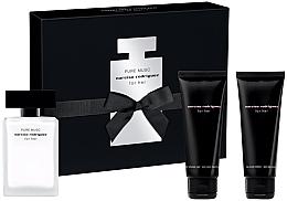 Düfte, Parfümerie und Kosmetik Narciso Rodriguez For Her Pure Musc - Duftset (Eau de Parfum 50ml + Körperlotion 75ml + Duschgel 75ml)