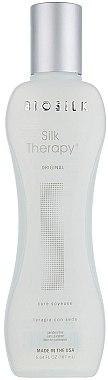 Regenerierende Bio Haarkur für trockenes und stumpfes Haar mit Seidenproteine - Biosilk Silk Therapy Original Silk Treatment — Bild N1
