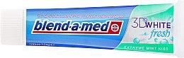 Zahnpasta 3D White Fresh Extreme Mint Kiss - Blend-a-med 3D White Fresh Extreme Mint Kiss Toothpaste — Bild N2