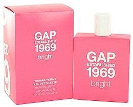 Düfte, Parfümerie und Kosmetik Gap Established 1969 Bright - Eau de Toilette