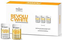 Düfte, Parfümerie und Kosmetik Gesichtspflegeset - Farmona Professional Revolu C White Set (Bioaktives Konzentrat 10x5ml+Aktivatormaske 10x12ml+Grundmaske/10x2g)