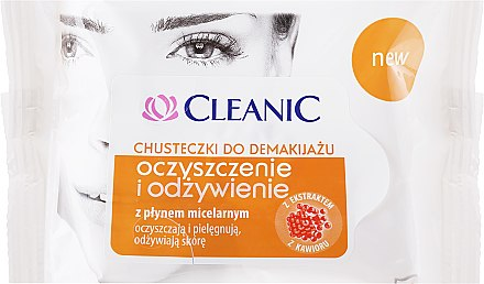Pflegende Reinigungstücher mit Mizellenwasser 20 St. - Cleanic Make Up Removal Wipes — Bild N1