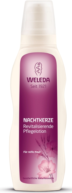 Revitalisierende und pflegende Körperlotion mit Nachtkerze - Weleda Evening Primrose Age Revitalizing Body Lotion — Bild N2