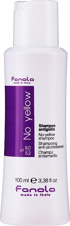 Anti-Gelbstich Shampoo für helle Haarfarben - Fanola No-Yellow Shampoo