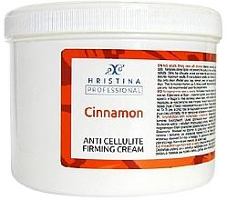 Düfte, Parfümerie und Kosmetik Straffende Anti-Cellulite Creme mit Zimt - Hristina Professional Anti Cellulite Firming Cream