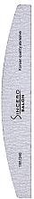 Düfte, Parfümerie und Kosmetik Nagelfeile Halbmond Zebra 180/240 - Sincero Salon Nail File, Halfmoon, Speedy Zebra