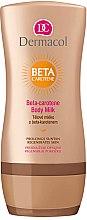 Düfte, Parfümerie und Kosmetik Körpermilch mit Beta-Carotin und Vitamin E - Dermacol Beta-Carotene Body Milk