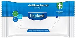 Düfte, Parfümerie und Kosmetik Erfrischende antibakterielle Feuchttücher 15 St. - Aksan Deep Fresh Antibacterial Wet Wipes
