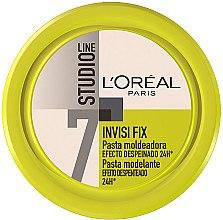 Düfte, Parfümerie und Kosmetik Modellierendes Creme-Gel für das Haar Extra starker Halt - L'Oreal Paris Studio Line 7 Invisi Fix Mineral Gel Cream