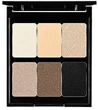 Düfte, Parfümerie und Kosmetik Lidschattenpalette mit 6 Farben - Pierre Rene Palette Match System Eyeshadow Golden Flower