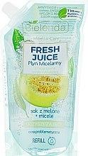 Düfte, Parfümerie und Kosmetik Mizellen-Reinigungswasser Melone - Bielenda Fresh Juice Detoxifying Face Micellar Water Melon (Refill)