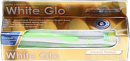 Düfte, Parfümerie und Kosmetik Zahnpflegeset für Raucher - White Glo Smokers Formula Whitening Toothpaste (Zahnpasta 100ml + Zahnbürste )