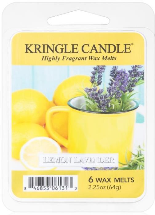 Tart-Duftwachs Zitrone und Lavendel - Kringle Candle Lemon Lavender — Bild N1