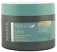 Düfte, Parfümerie und Kosmetik Stärkende Haarmaske - Markell Cosmetics Natural Line