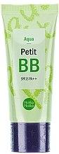 Düfte, Parfümerie und Kosmetik BB Gesichtscreme mit grünem Tee, Chrysanthemen und Lavendelöl für Mischhaut - Holika Holika Aqua Petit BB Cream SPF25