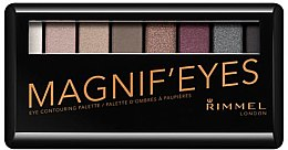 Düfte, Parfümerie und Kosmetik Lidschattenpalette - Rimmel Magnif'Eyes Eyeshadow Palette (London Nudes Calling)