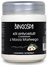 Düfte, Parfümerie und Kosmetik Anticellulite Badesalz mit Mineralien aus dem Toten Meer, Kamille und Torf - BingoSpa Salt With Minerals