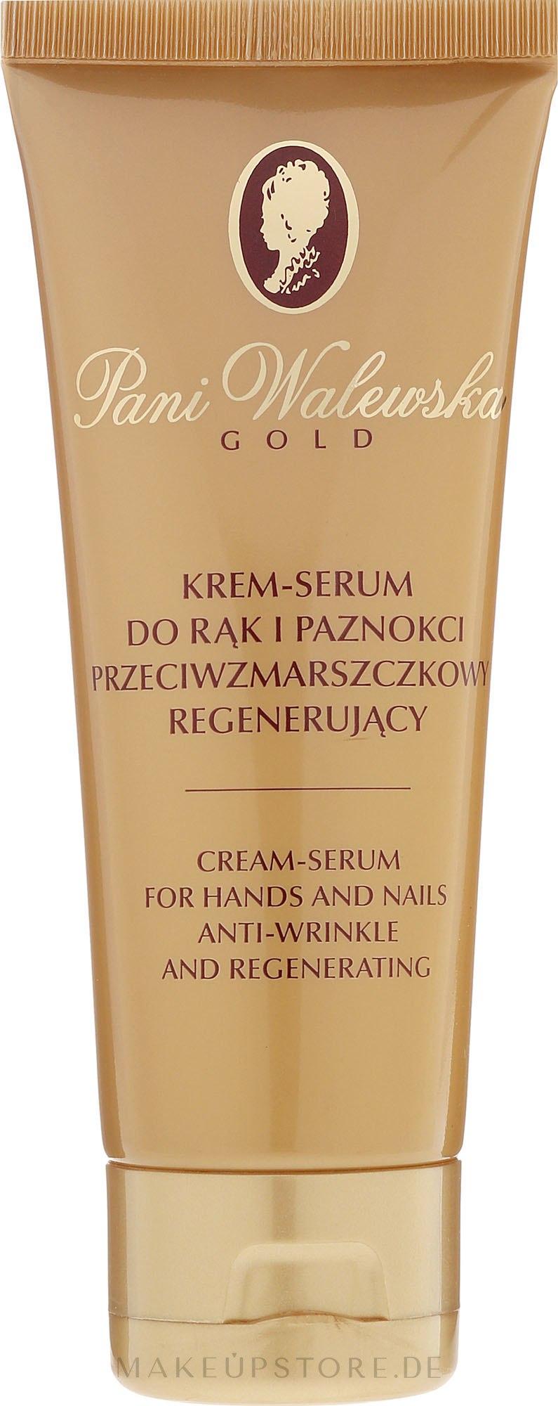 Regenerierendes Anti-Falten Hand- und Nagelcreme-Konzentrat - Miraculum Pani Walewska Gold Hand and Nail Cream-Concentrate — Bild 75 ml