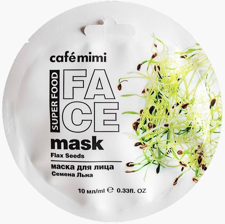 Nährende Gesichtsmaske mit Leinsamen und Mandelmilch - Cafe Mimi Face Mask — Bild N1