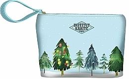 Düfte, Parfümerie und Kosmetik Kosmetiktasche - Institut Karite Paris Christmas Tree Small Pouch