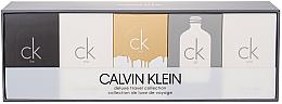 Düfte, Parfümerie und Kosmetik Calvin Klein CK Miniatures Coffret Set - Kosmetikset (Eau de Toilette/5x10ml)