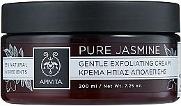Sanfte Peelingcreme für das Gesicht mit Jasmin - Apivita Gentle Exfoliating Cream — Bild N1