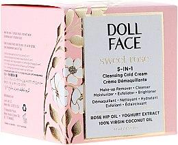 5in1 Kühlende Gesichtscreme mit Hagebutten- und Kokosöl und Joghurt-Extrakt - Doll Face Sweet Rose 5-in-1 Cleansing Cold Cream — Bild N2