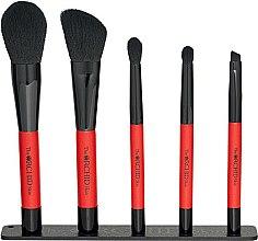 Düfte, Parfümerie und Kosmetik Make-up Pinsel Set 5 St. - The Orchid Skin Magnetic Brush Pouch Set