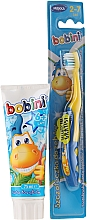 Düfte, Parfümerie und Kosmetik Zahnpflegeset für Kinder - Bobini (Zahnbürste 2-7 Jahre weich 1St. + Zahnpasta 6+ Jahre 75ml)