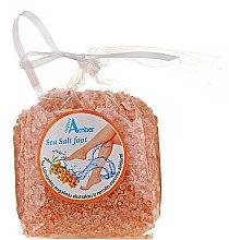 Düfte, Parfümerie und Kosmetik Aufweichendes Fußbadesalz mit Sanddornextrakt - Aqua Amber Sea Salt Foot
