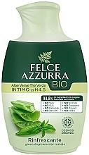 Düfte, Parfümerie und Kosmetik Flüssigseife für die Intimhygiene mit Aloe Vera und grünem Tee - Felce Azzurra BIO Aloe Vera&Green Tea