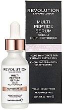 Düfte, Parfümerie und Kosmetik Anti-Falten Gesichtsserum mit Peptiden - Makeup Revolution Multi Peptide Serum