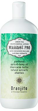Massage Milch grüner Tee - Oranjito Massage Pro Green Tea Massage Body Milk — Bild N1