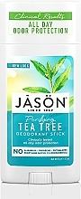 Düfte, Parfümerie und Kosmetik Deostick mit Teebaumöl - Jason Natural Cosmetics Pure Natural Deodorant Stick Tea Tree