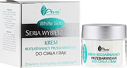 Düfte, Parfümerie und Kosmetik Aufhellende Hand- und Körpercreme - Ava Laboratorium White Skin Active Whitening Cream For Hands And Body