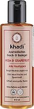 Düfte, Parfümerie und Kosmetik Ayurvedisches Dusch- und Badegel mit Neem und Grapefruit für alle Hauttypen - Khadi Bath & Body Wash Neem & Grapefruit