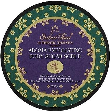Zucker-Körperpeeling mit Reiskleieöl und Aloe Vera - Sabai Thai Rice Milk Aroma Exfoliating Body Sugar Scrub — Bild N1