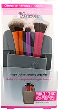 Düfte, Parfümerie und Kosmetik Make-up Pinsel-Organizer grau - Real Techniques Single Pocket Expert Organizer Grey