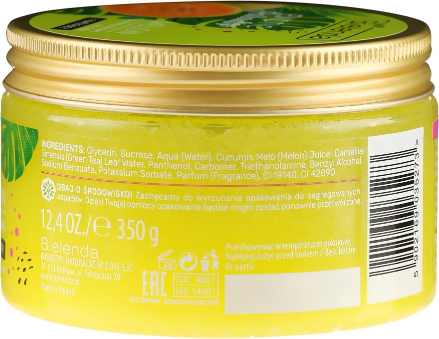 Feuchtigkeitsspendendes Zuckerpeeling für den Körper mit Melonenextrakt - Bielenda Exotic Paradise Peel — Bild N3