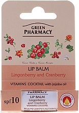 "Lippenbalsam ""Preiselbeere und Moosbeere"" - Green Pharmacy Lip Balm With Lingonberry And Cranberry — Bild N2"