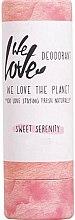Düfte, Parfümerie und Kosmetik Deostick mit Duft von Rosenöl mit Honig und milden Kräutern - We Love The Planet Sweet Serenity Deodorant Stick