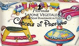 Düfte, Parfümerie und Kosmetik Handgemachte Naturseife für Kinder mit Magnolie - Florinda Sapone Vegetale Magnolia Vegetal Soap Handmade
