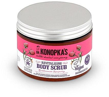 Körperpeeling mit Schwarzrosenextrakt - Dr. Konopka's Revitalizing Body Scrub — Bild N1