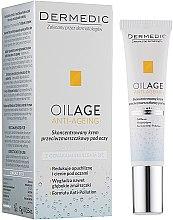 Düfte, Parfümerie und Kosmetik Anti-Falten Creme-Balsam für die Augenpartie - Dermedic Oilage Concentrated Anti-Wrinkle Eye Cream