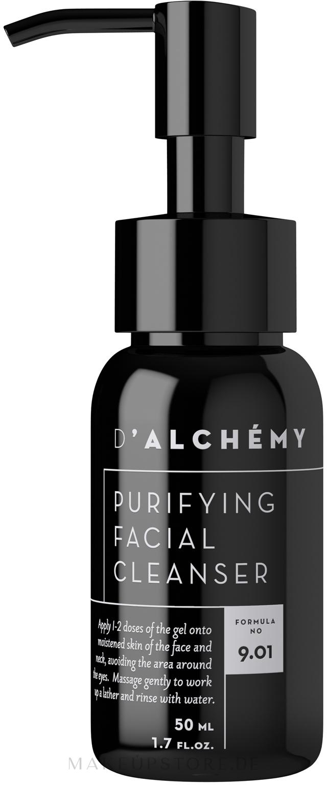Gesichtsreinigungsgel - D'Alchemy Puryfying Facial Cleanser — Bild 50 ml
