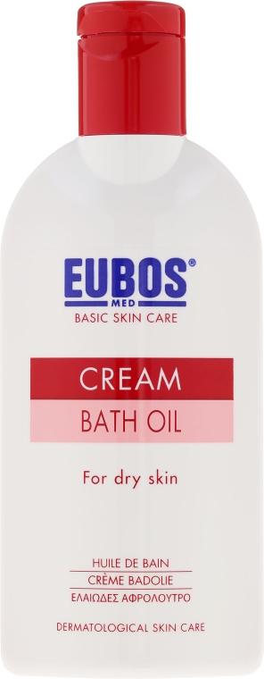 Badeöl für trockene Haut - Eubos Med Basic Skin Care Cream Bath Oil For Dry Skin — Bild N2