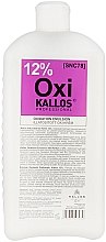 Düfte, Parfümerie und Kosmetik Oxidationsmittel 12% - Kallos Cosmetics OXI Oxidation Emulsion With Parfum